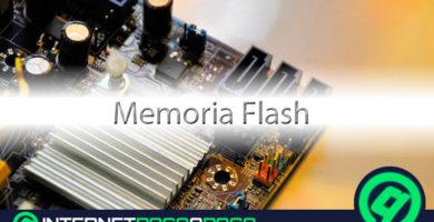 Mémoire flash: qu'est-ce que c'est