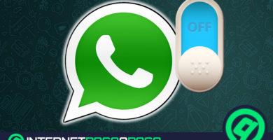 Comment désactiver WhatsApp pour ne pas recevoir de messages tout en ayant Internet? Guide étape par étape