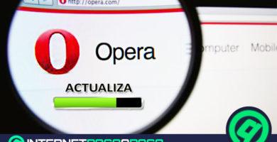 Comment mettre à jour le navigateur Opera vers la dernière version? Guide étape par étape