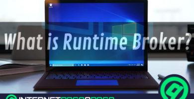 Runtime Broker Qu'est-ce que c'est et comment éviter une consommation excessive de RAM et CPU de votre PC?