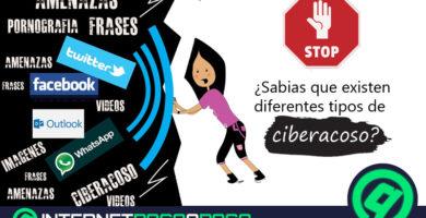 Quels sont les types de cyberintimidation qui existent actuellement sur Internet et les réseaux sociaux? Liste 2020
