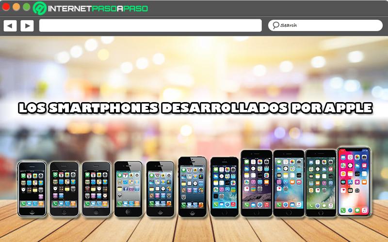 Tous les smartphones développés par Apple De l'iPhone 0 à 11!