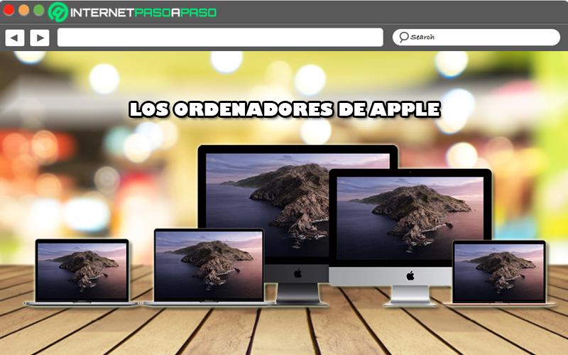 Lista de todos los ordenadores desarrollados por Apple hasta ahora