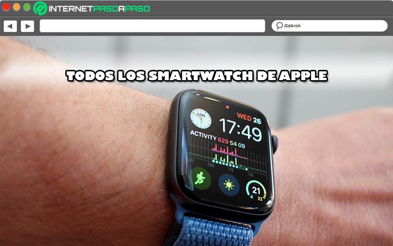 Lista de todos los relojes inteligentes fabricados por Apple