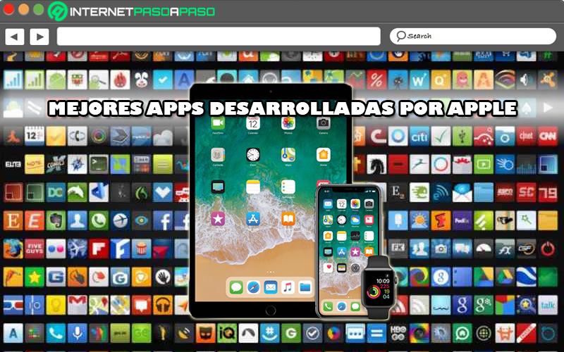 Lista de las mejores aplicaciones desarrolladas por Apple para sus dispositivos