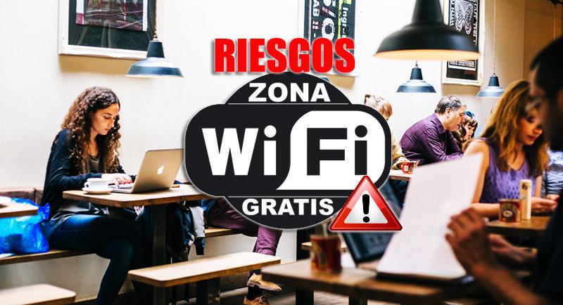 ¿Qué riesgos conlleva conectarse a Internet desde una conexión Wi-Fi gratis?