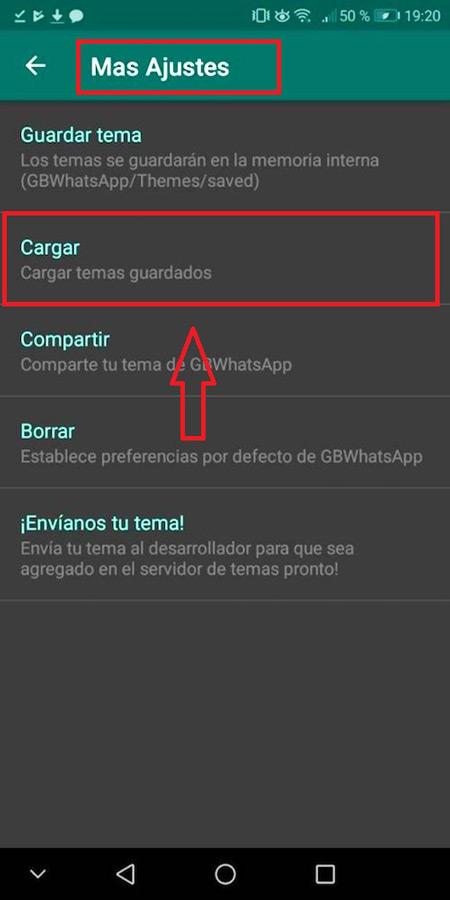 Pasos para habilitar y poner el modo oscuro en Whatsapp antes de instalar la última versión