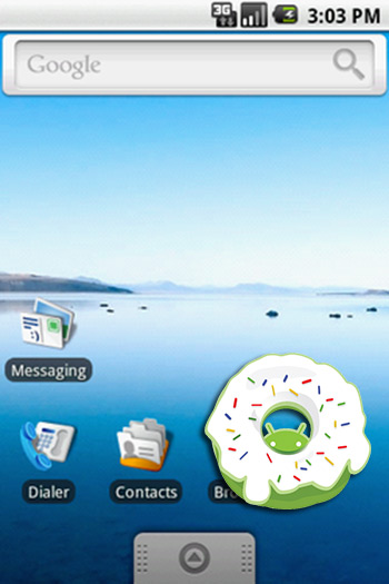 Android Donut (1.6)