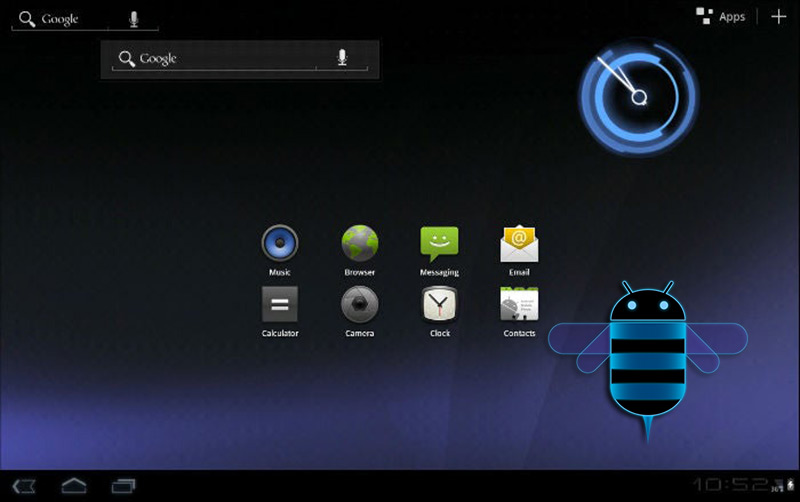 Android Honeycomb (3.0)