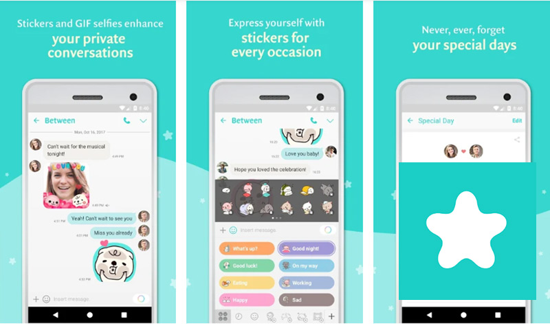 Between - Private Couples App