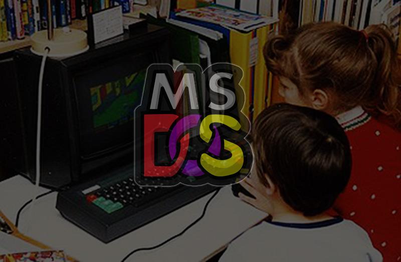 Cómo eran los juegos de la era MS-DOS