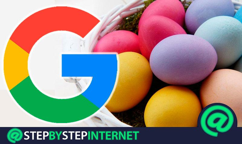 """Google Easter Egg What are all the """"Easter Eggs"""" hidden in the Big G Finder? 2019 List"""