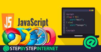 How to activate and enable JavaScript in all web browsers? Step by step guide