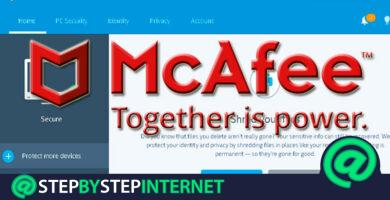 How to activate the McaFee Antivirus program? Step by step guide