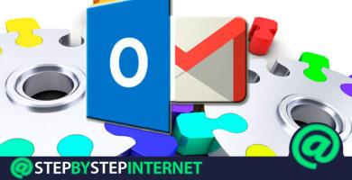 How to configure and link a Microsoft Outlook account with Google Gmail? Step by step guide