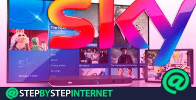 How to create a Sky TV account for free