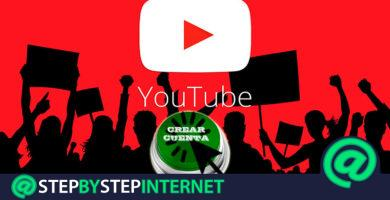 How to create a free YouTube account or channel in Spanish quickly and easily? Step by step guide