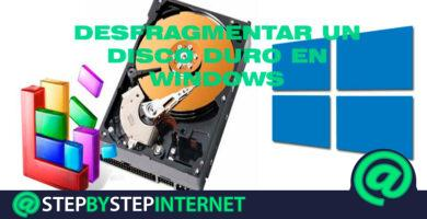 How to defragment a hard drive and improve the performance of Windows computer? Step by step guide