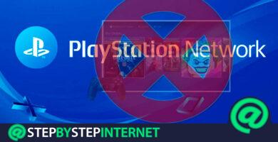 How to delete a PSN account Sony Playstation Network? Step by step guide