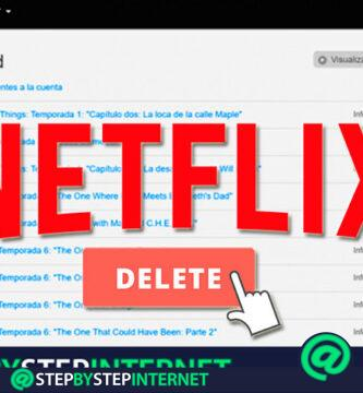 How to delete the history of your Netflix account so that nobody knows the series and movies you watch? Step by step guide