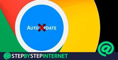 How to disable automatic updates of Google Chrome? Step by step guides