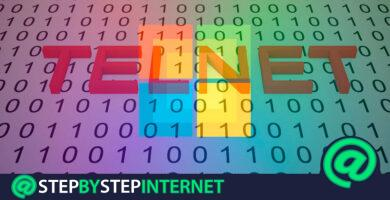 How to enable and activate Telnet in Windows? Step by step guide