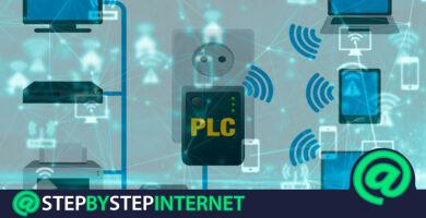 How to have Internet connection through the electrical network through a PLC? Step by step guide