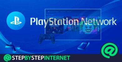 How to log in to PSN Sony Playstation Network in Spanish? Step by step guide