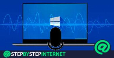 How to record a voice or audio clip with the Windows 10 recorder? Step by step guide