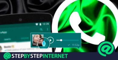 How to record and send an audio message on WhatsApp without having to hold down the microphone? Step by step guide