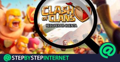 How to recover the Clash of Clans account to use it on my new mobile? Step by step guide
