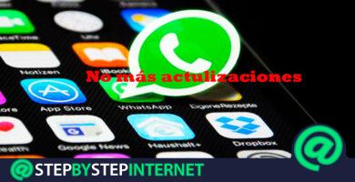 How to remove and disable automatic updates for Whatsapp Messenger? Step by step guide