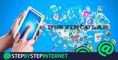 How to unlink the applications that are connected to your social networks? Step by step guide