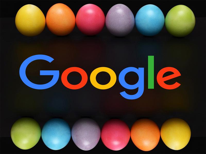 Huevos de pascua de Google