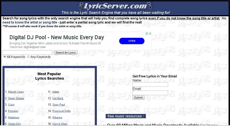 LyricServer