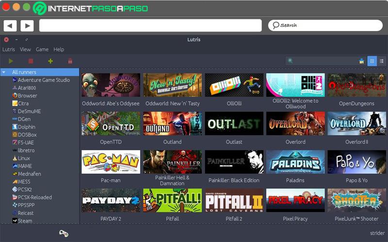 Mejores plataformas de videojuegos en Internet