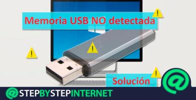 My Windows PC does not recognize a USB flash drive. How to fix it?