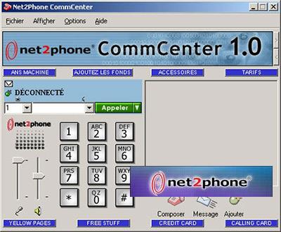 Net2Phone CommCenter