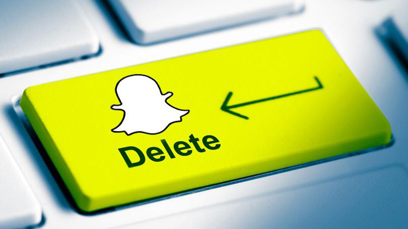 Pasos para borrar cuenta de Snapchat desde movil android e ios