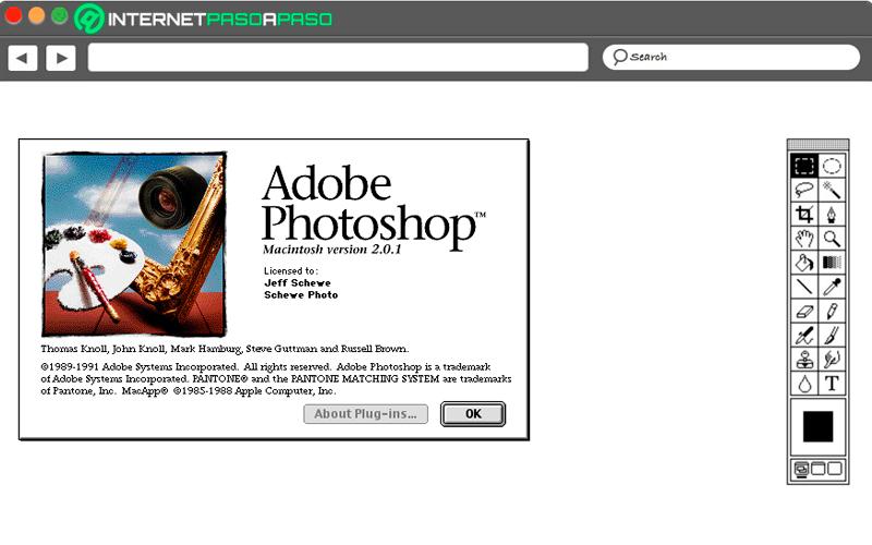 Photoshop 2.0 y 2.5