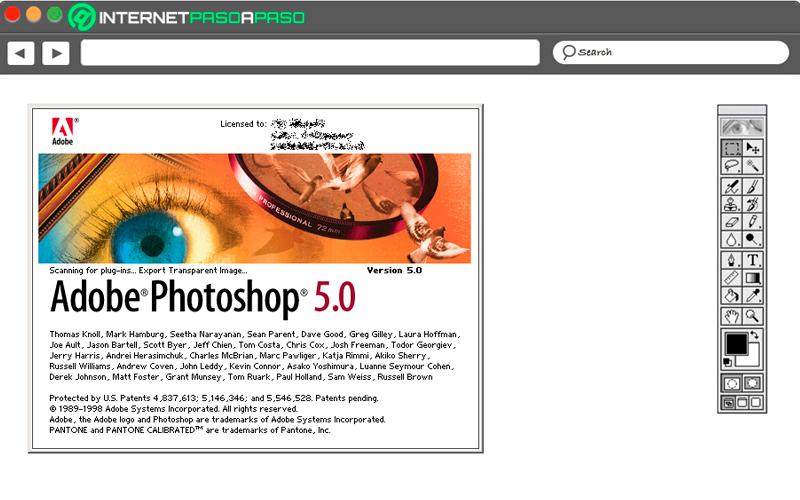 Photoshop 5.0 y 5.5