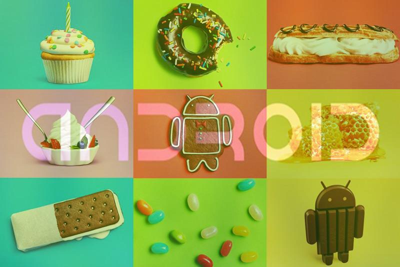 Por qué todas las versiones del sistema operativo Android tienen nombre de dulce