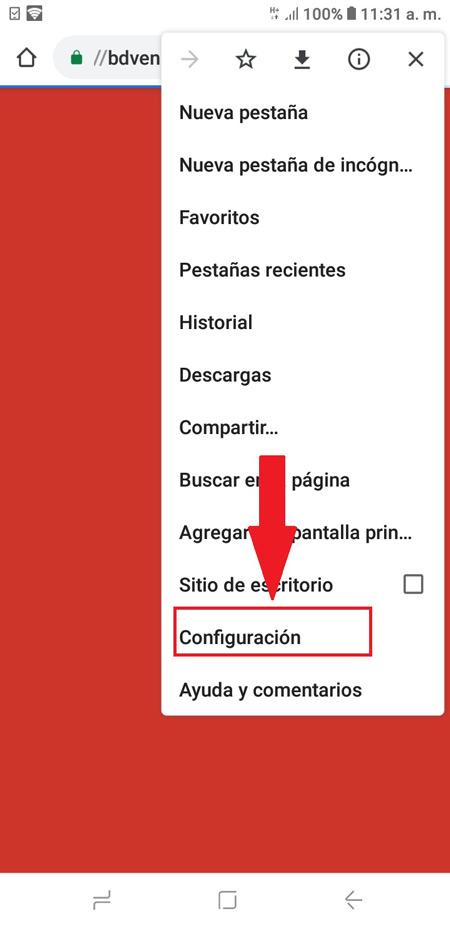 Android Chrome öffnet Werbung