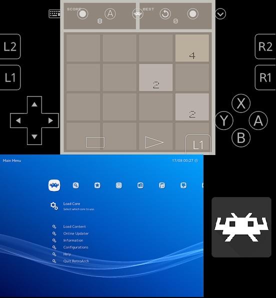 RetroArch64 emulador para android