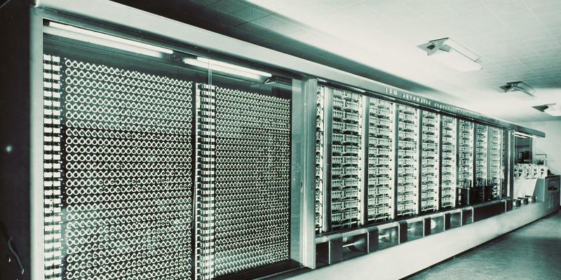 The Harvard Mark I primer mainframe