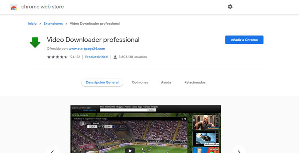 Vídeo Downloader Professional