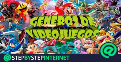 What are all the video game genres that exist? 2020 list
