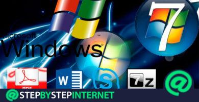What are the best basic Windows 7 programs to install? 2020 list