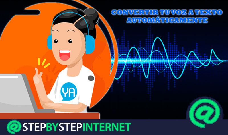 What are the best programs and applications to convert your voice into text automatically? 2020 list