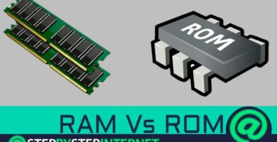 What are the main differences between RAM and ROM? Types and examples